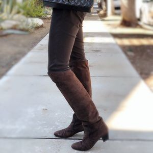Yves Saint Laurent YSL Suede leather boots
